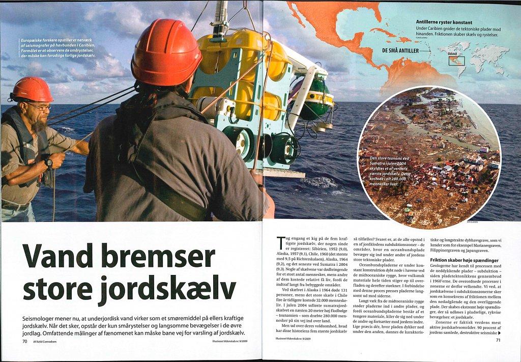 illustretet videnskab -Denmark - sismologie