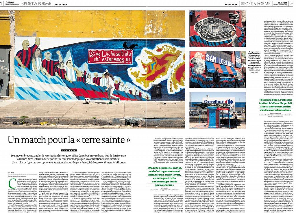 Le Monde - Argentine - Foot