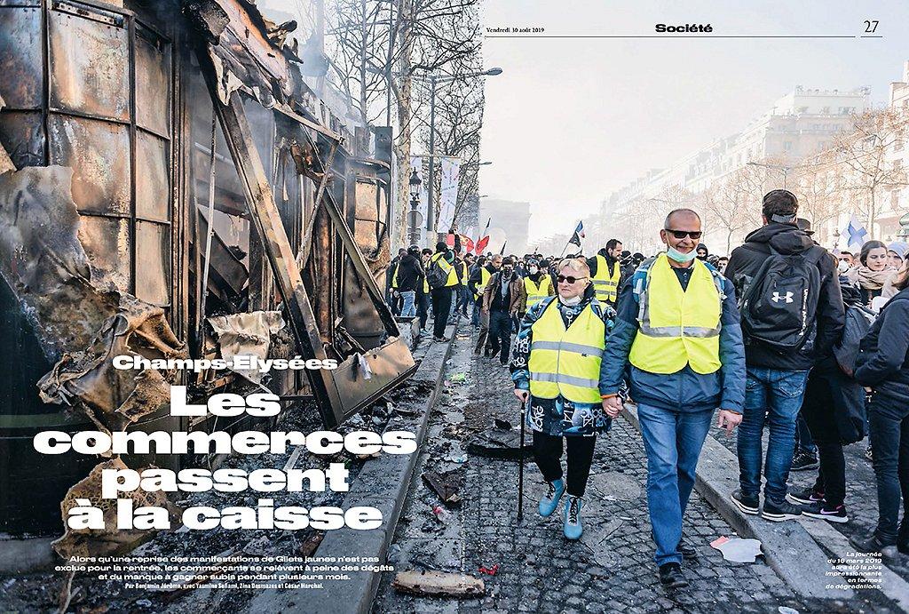 Le Parisien weekend - France